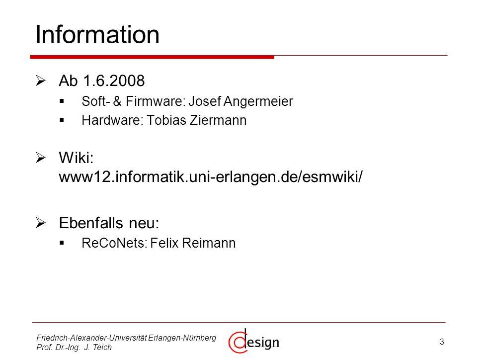 3 Friedrich-Alexander-Universität Erlangen-Nürnberg Prof.