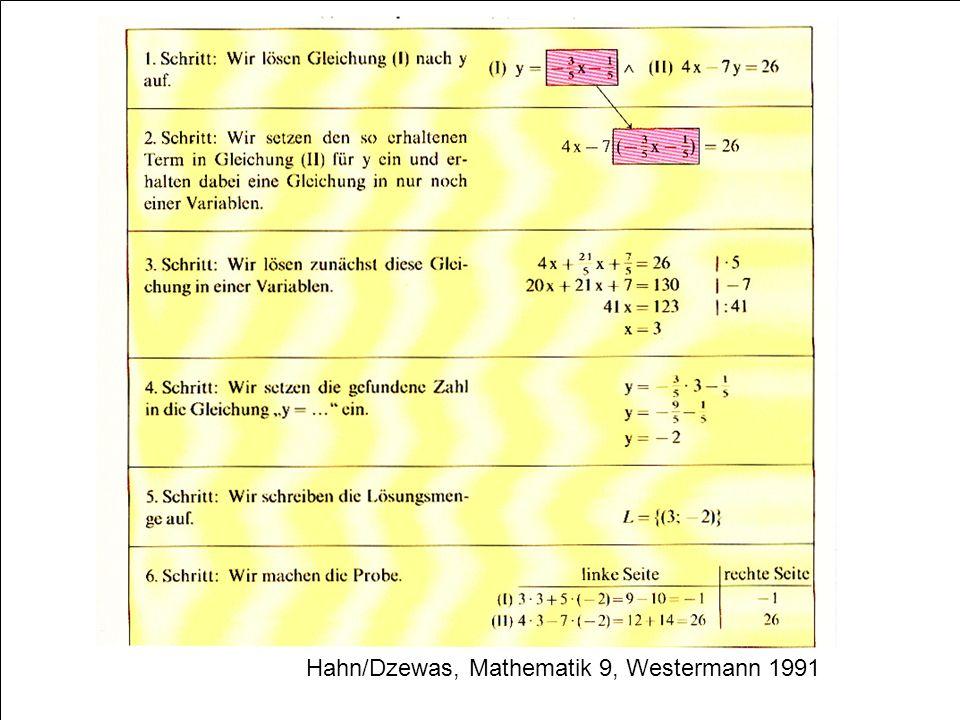 58 Hahn/Dzewas, Mathematik 9, Westermann 1991