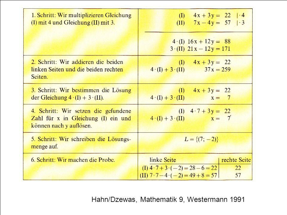 59 Hahn/Dzewas, Mathematik 9, Westermann 1991