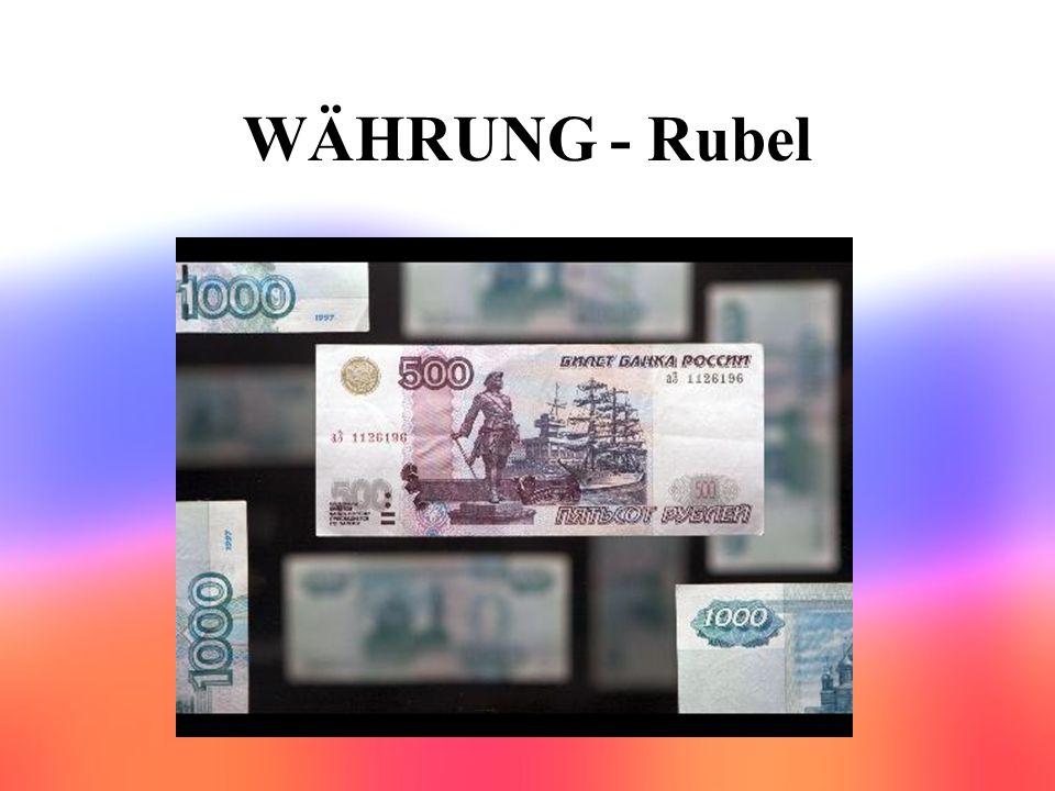 WÄHRUNG - Rubel