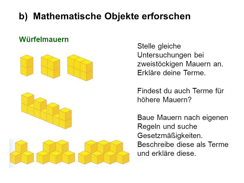Betrachte die Schar von Funktionen b) Mathematische Objekte erforschen mit einem Parameter Entdecke möglichst vielfältige Eigenschaften dieser Funktionenschar.