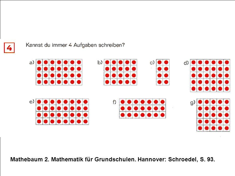 Mathebaum 2. Mathematik für Grundschulen. Hannover: Schroedel, S. 93.