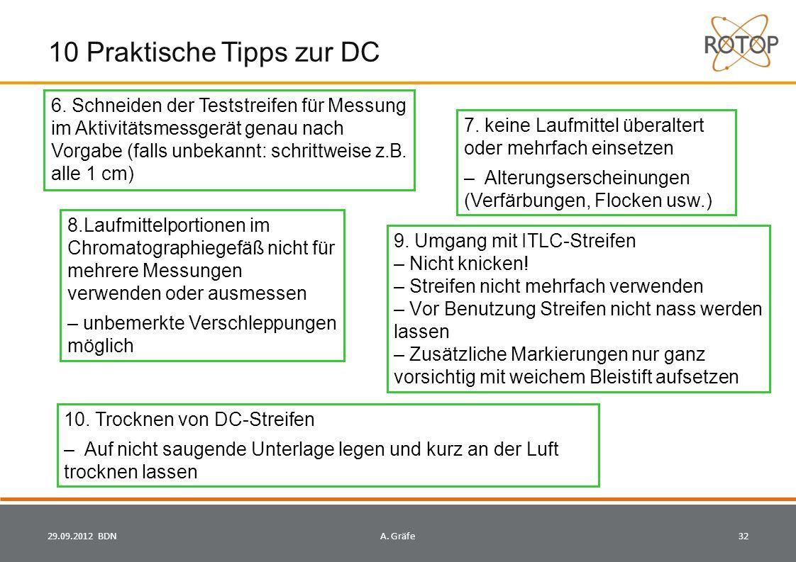 10 Praktische Tipps zur DC 10.