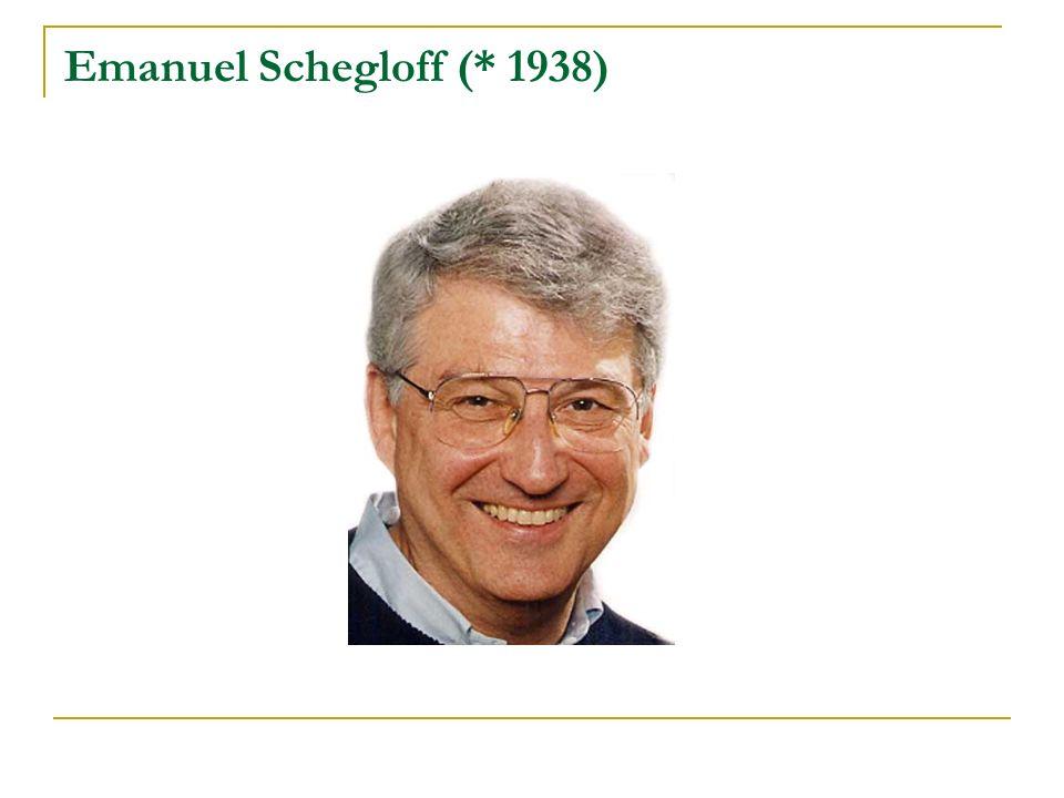 Emanuel Schegloff (* 1938)