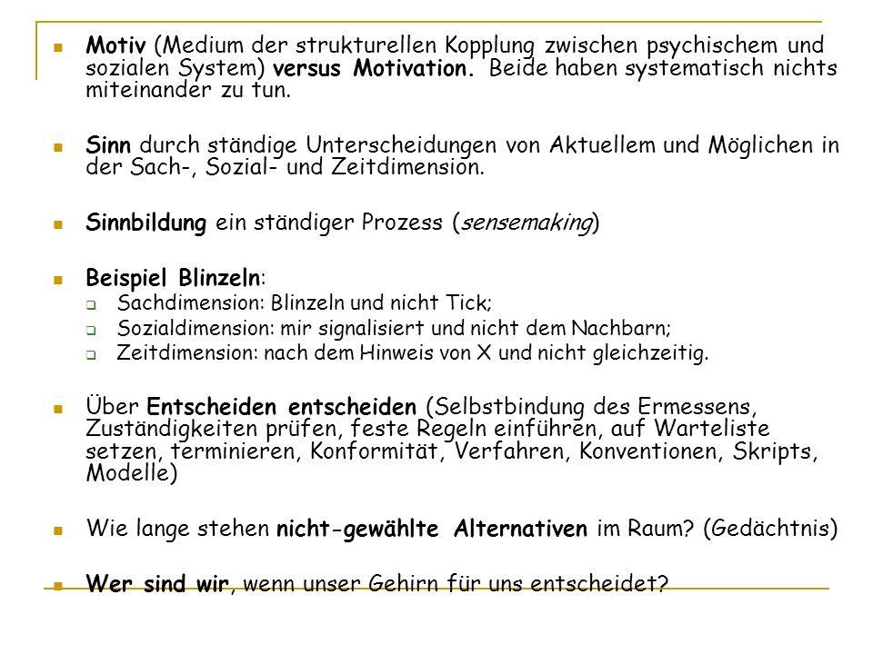 Modell der Motivation, Norbert Bischof