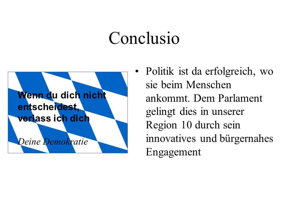 Involvierung der Politik Unterstützung und Vertretung der städtischen Anliegen im Gestaltungsrat Genehmigung des Stadions durch Grundsatzbeschluss Politik propagiert Schaffung einer großen Biotoplandschaft Projektverwirklichung durch übergreifende, auch finanzielle Zusammenarbeit von Wirtschaft (Tuja), und Staat (Stadt Ingolstadt sowie Freistaat Bayern)