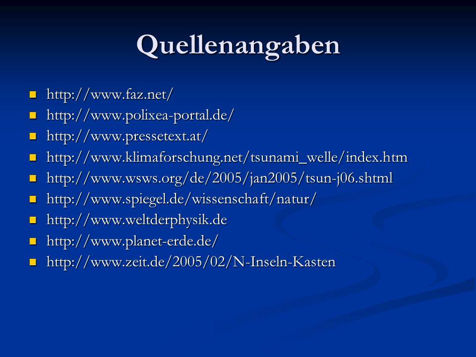 Quellenangaben http://www.faz.net/ http://www.faz.net/ http://www.polixea-portal.de/ http://www.polixea-portal.de/ http://www.pressetext.at/ http://ww