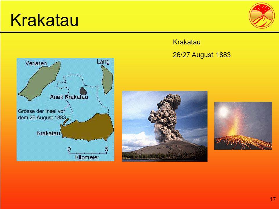 17 Krakatau 26/27 August 1883