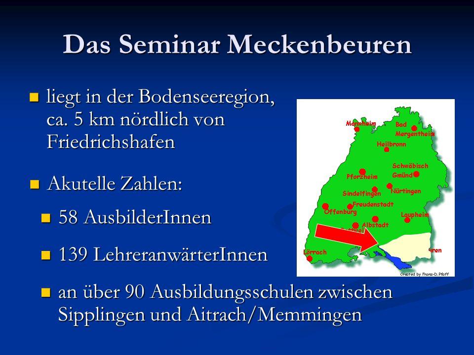Das Seminar Meckenbeuren liegt in der Bodenseeregion, ca.