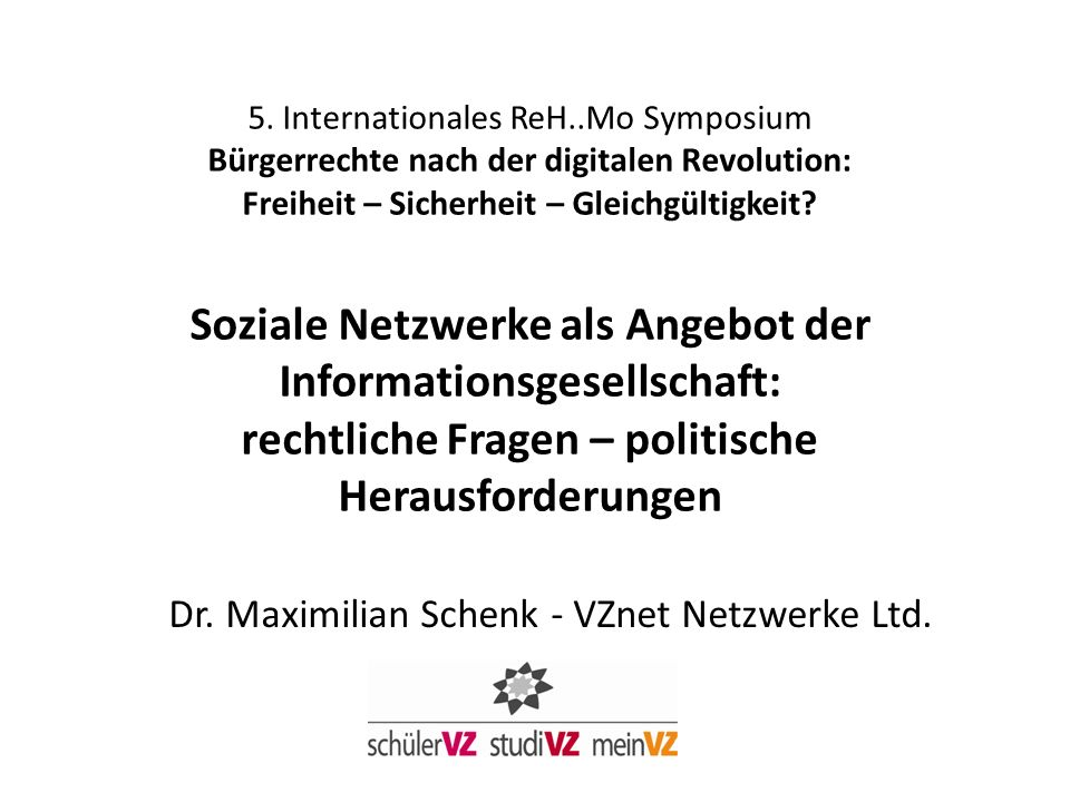 * schülerVZ + studiVZ + meinVZ, nur Nutzer in DE 14 bis 29 Jahre Quelle: AGF/GfK Fernsehpanel (D) April 2009, VZnet Netzwerke Ltd.