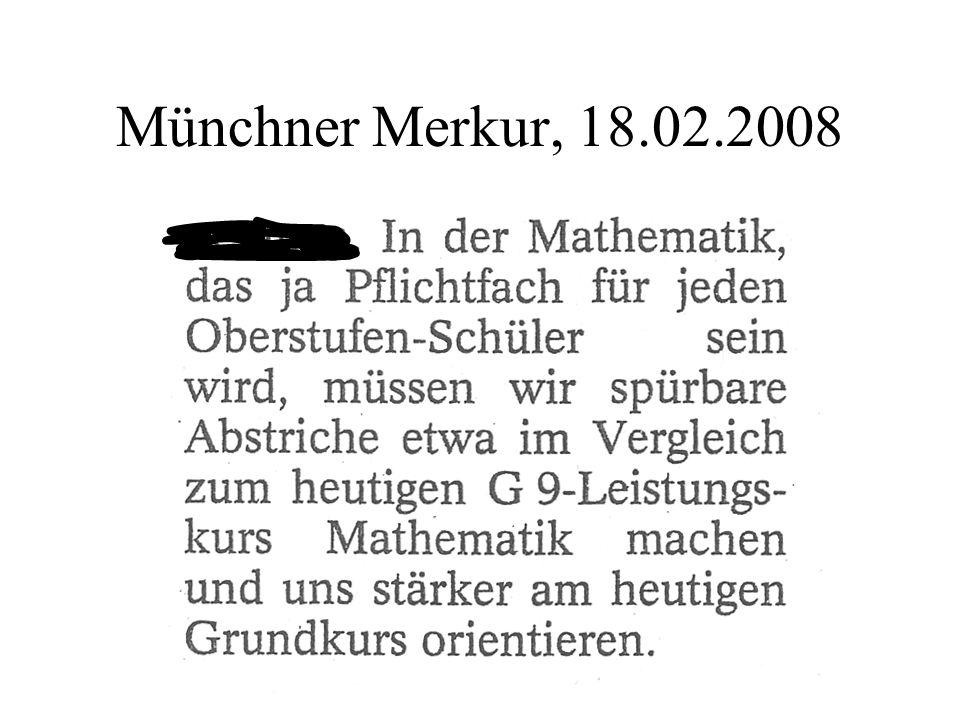 Rahmenbedingungen in den Jgst.