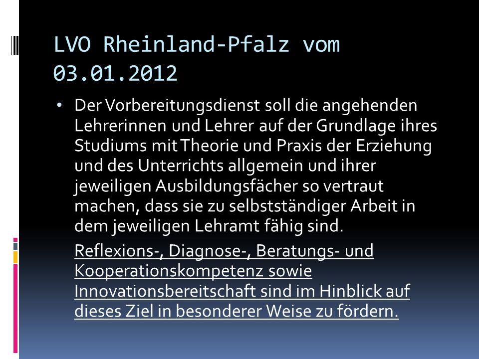 Grundlegende Ziele und Inhalte der Ausbildung der 2. Phase PD Dr. Margit Theis-Scholz TD Trier, 01.08.2013