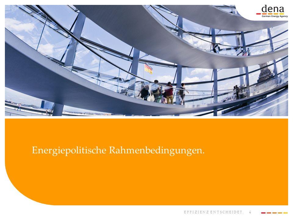 5 EFFIZIENZ ENTSCHEIDET.Weltweiter Energiebedarf (New Policies Scenario).