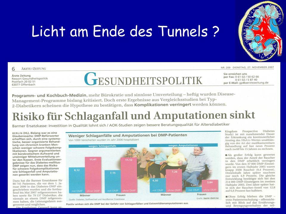 Licht am Ende des Tunnels ? Barnett, A. H. et al. N Engl J Med 2004;351: 1952-1961