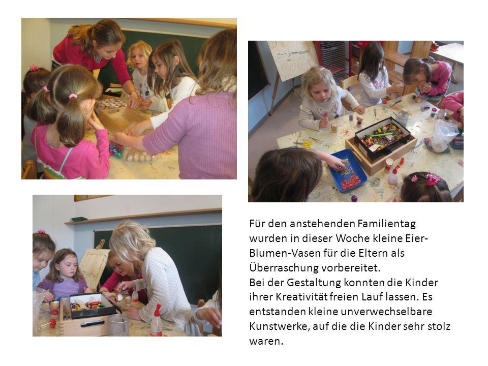 Um die Kinder auf das neue Projektthema ein zustimmen, erhielten die Gruppe beim nächsten Treffen ein Puzzel, welches sie in gegenseitiger Absprache lösen sollten.