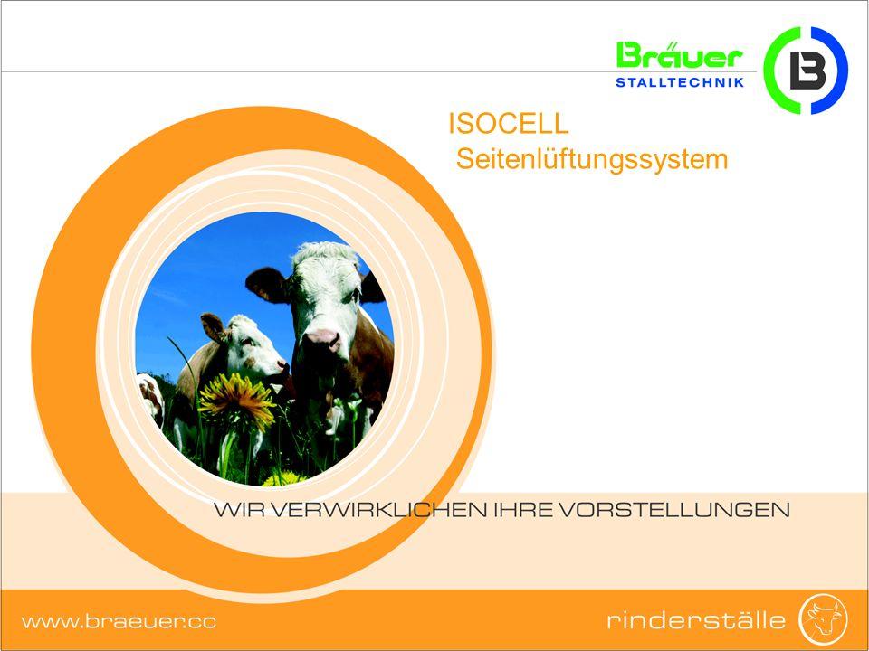 ISOCELL - Seitenlüftungssystem Varianten: ISOCELL ohne Mindestluftrate 1xKammer2xKammer3xKammer4xKammer Eine Membran kann aus bis zu 4 Kammern bestehen (=4 Ventilatoren)