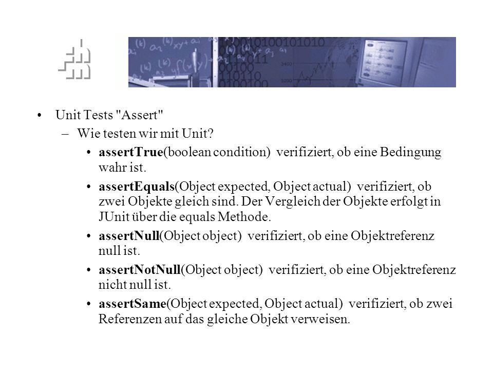 TTD Prinzip Unit Tests