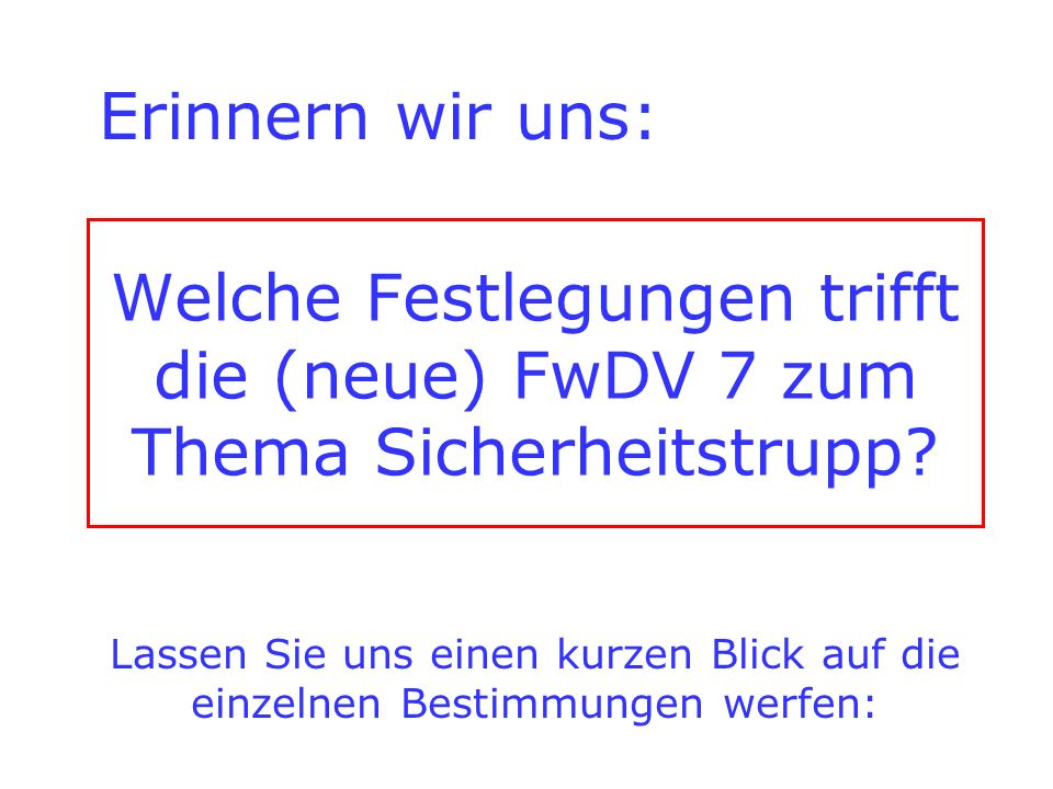 Achtung.
