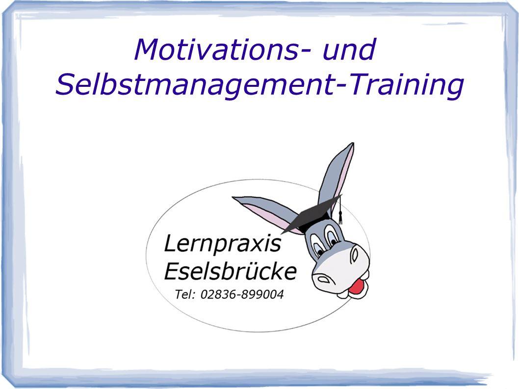 Motivations- und Selbstmanagement-Training