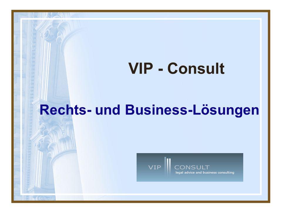VIP - Consult Rechts- und Business-Lösungen