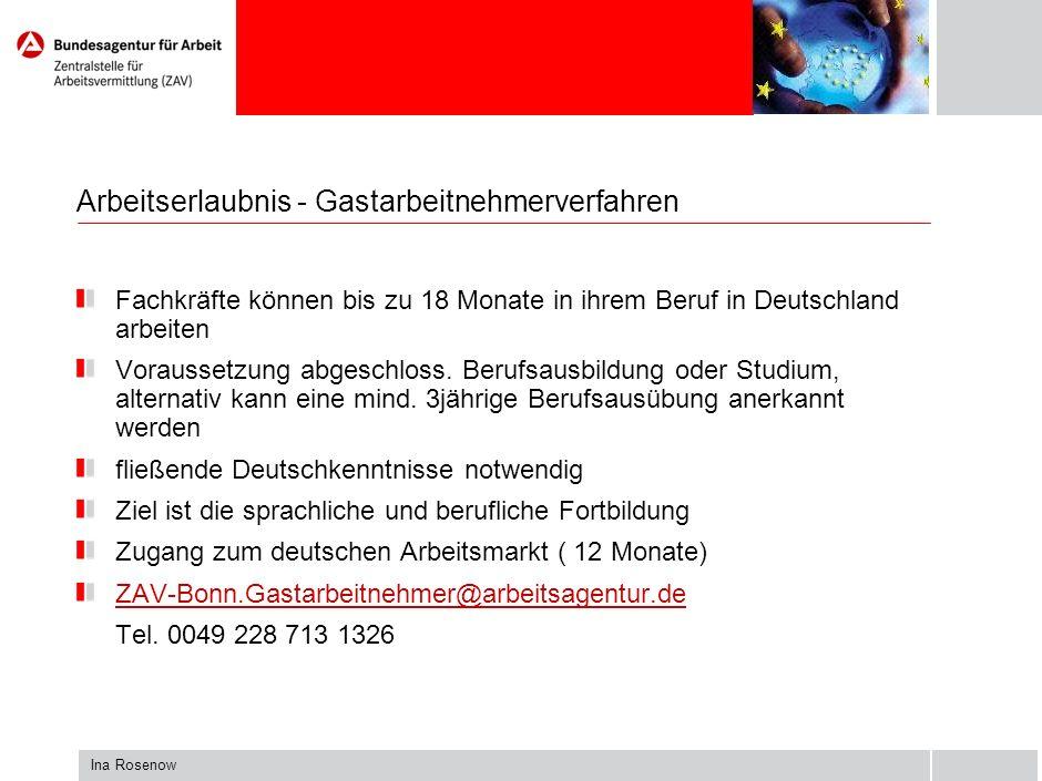 Ina Rosenow Datenbank der reglementierten Berufe: http://ec.europa.eu/internal_market/qualifications/reg prof/professions/dsp_find.cfm Bildungsabschlüsse: www.enic-naric.net www.anabin.de Kostenlose Hotline: 00 800 67 89 10 11 Anerkennung