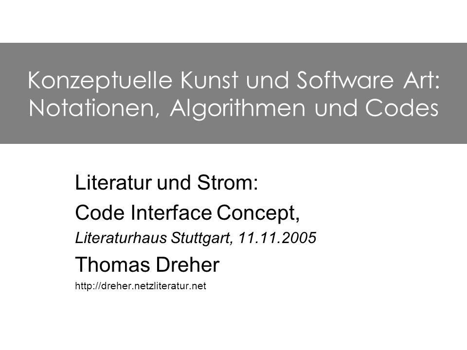 2 Verbale Instruktionen Instruktionen mit algorithmischer Gliederung maschinenlesbare Notationen (mit Algorithmen in Programmier- sprachen) Konzepte: