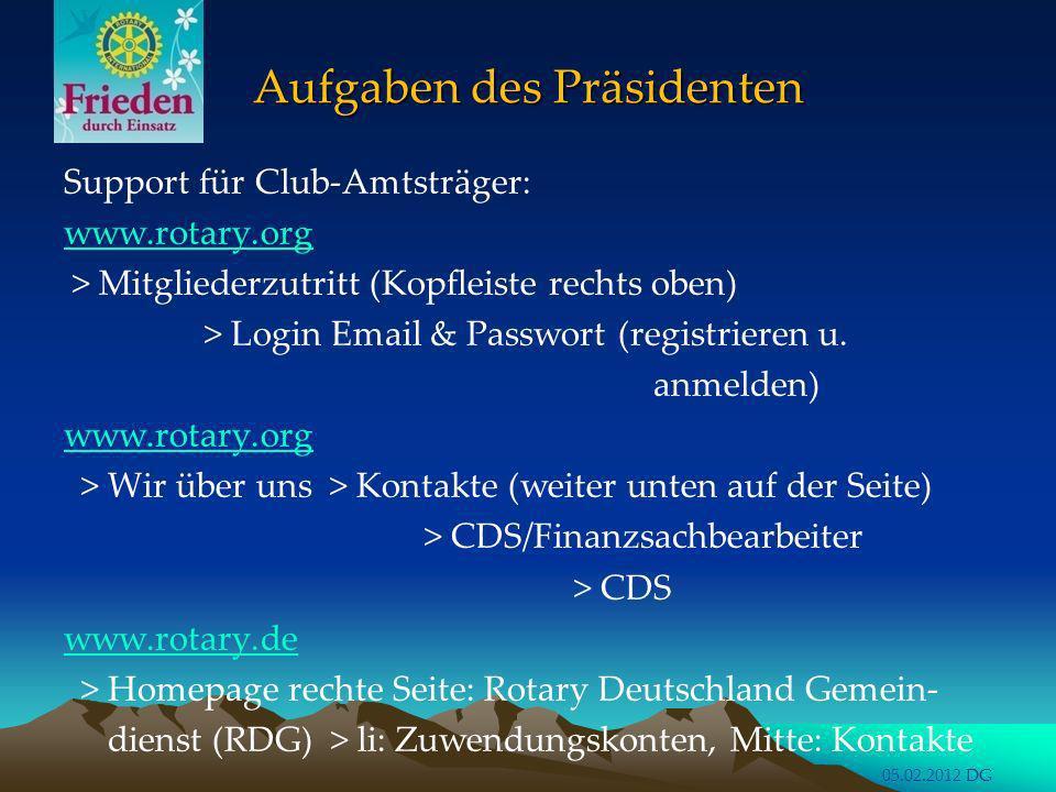Rotary International Conventions Rotary International Conventions Jeder Präsident sollte wenigstens einmal eine R.I.