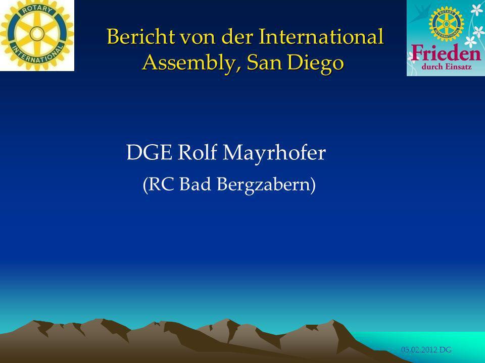 DG 2012/2013 D.1860 mit R.I. President Elect IA San Diego, January 2012