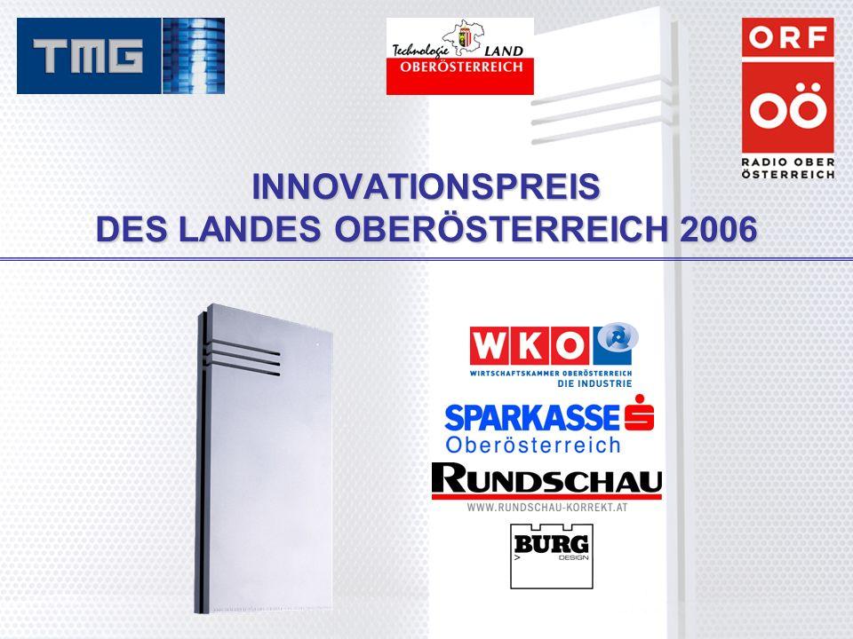 INNOVATIONSPREIS DES LANDES OBERÖSTERREICH 2006