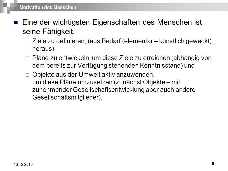 26 13.12.2013 Mechanische Lehrmaschinen 1 Die am 20.