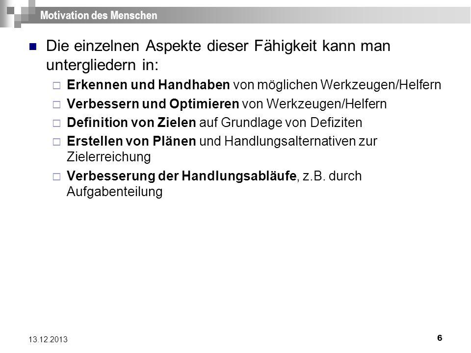 77 13.12.2013 Literatur [1] Niegemann et.al., Kompendium E-Lerning, 2004, Springer-Verlag