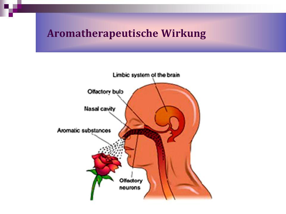 Aromatherapeutische Wirkung