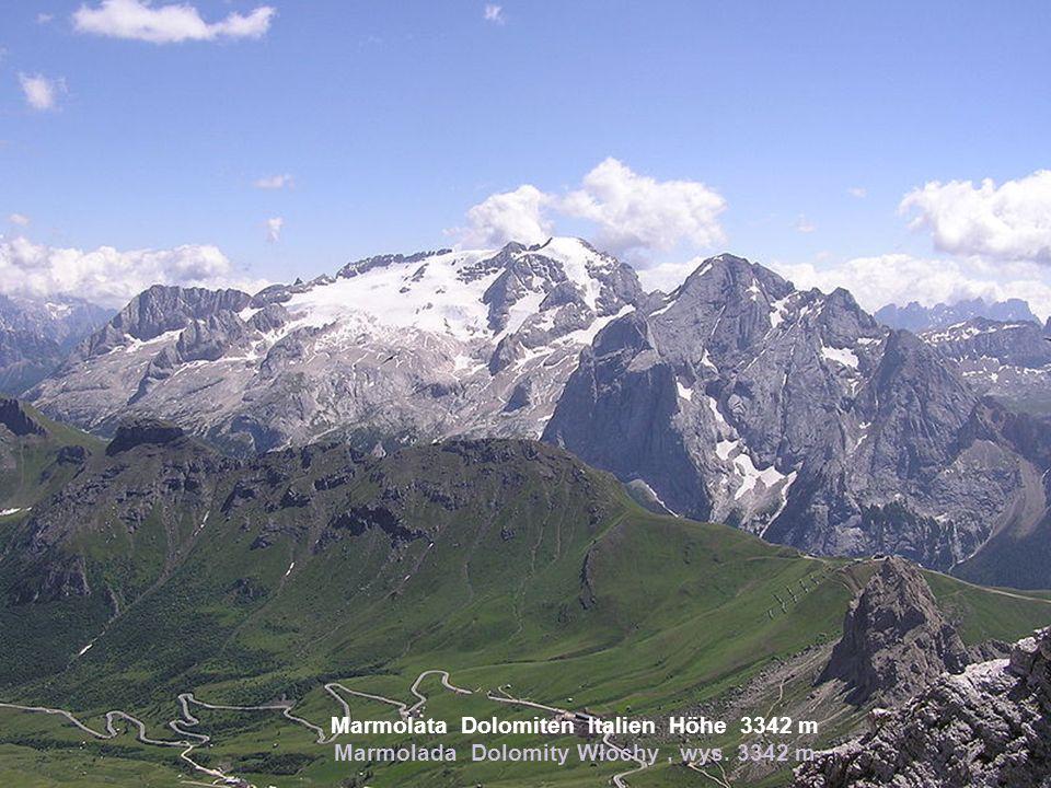 Pyrenäen Spanien / Frankreich Höhe 3404 m Pireneje Hiszpania /Francja, wys. 3404 m