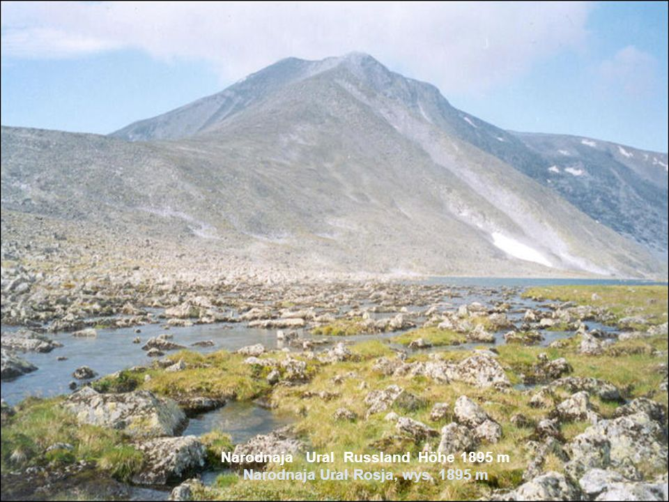 Elbrus Kaukasus Russland Höhe 5642 m Elbrus Kaukaz Rosja, wys. 5642 m