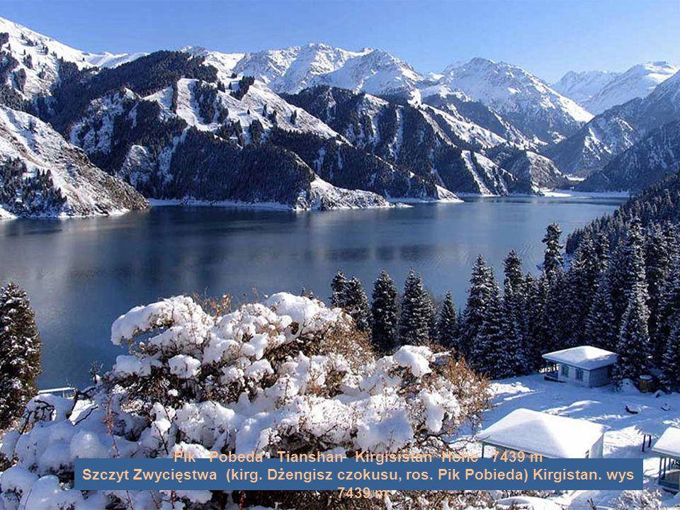 Belucha Altai Kasachstan Höhe 4505 m Biełucha Ałtaj Kazachstan, wys. 4505 m