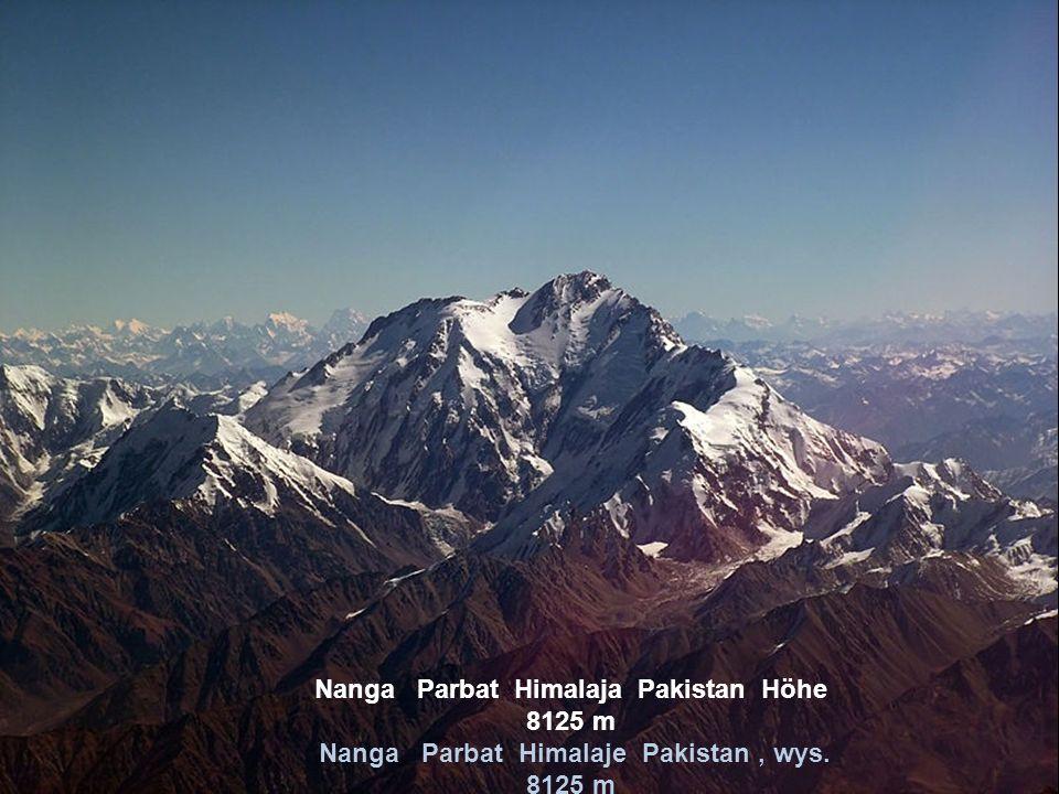 Hindukusch Afghanistan Höhe 7699 m Hindukusz Afganistan, wys. 7699 m