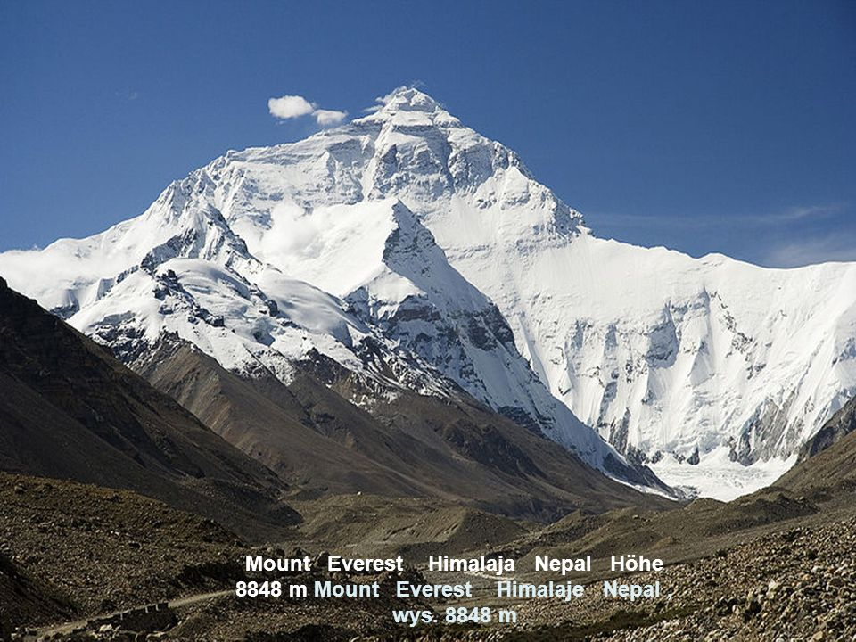 Annapurna Himalaja Nepal Höhe 7937 m Annapurna Himalaje Nepal, wys. 7937 m