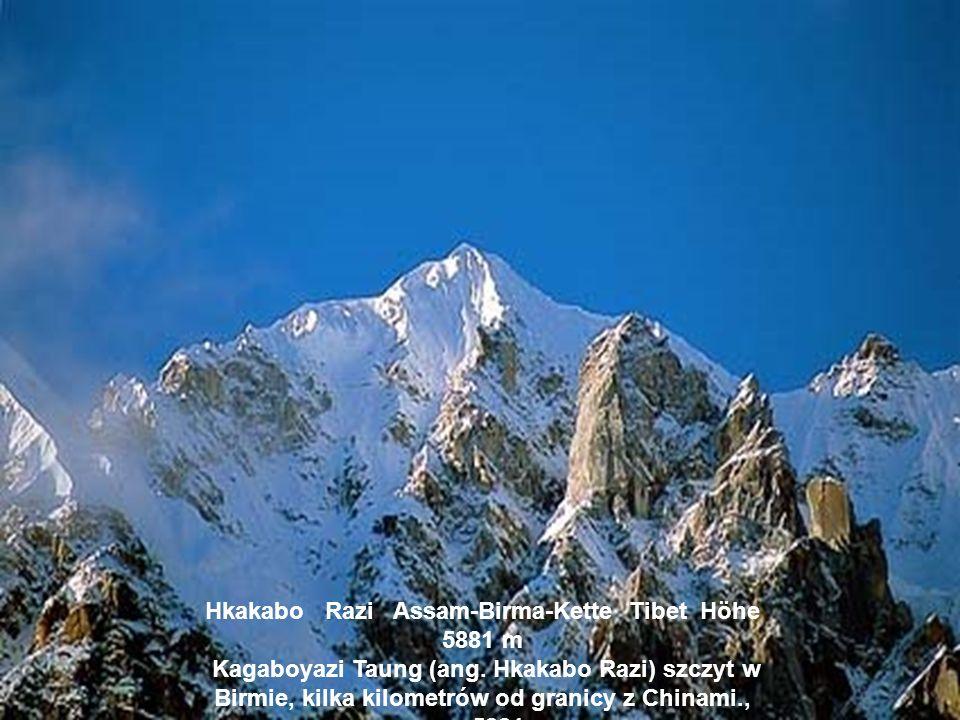 Anamudi Westghats Indien Höhe 2694 m Annamudi Ghaty Zachodnie, wys. 2694 m