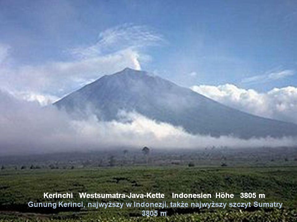 Kinabalu Zentral-Borneo-Kette Malaysia Höhe 4101 m Kinabalu północno – wschodnie Borneo Archipelag Malajski wys. 4101 m