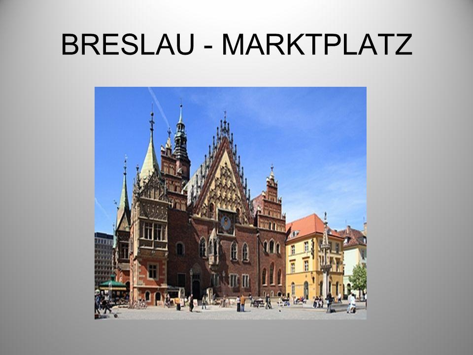 BRESLAU - MARKTPLATZ
