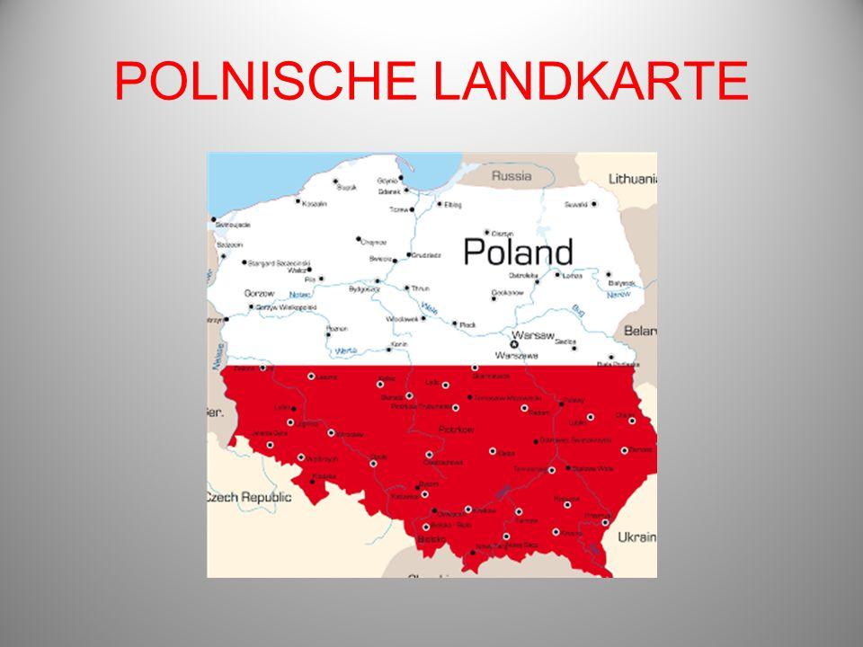 POLNISCHE LANDKARTE