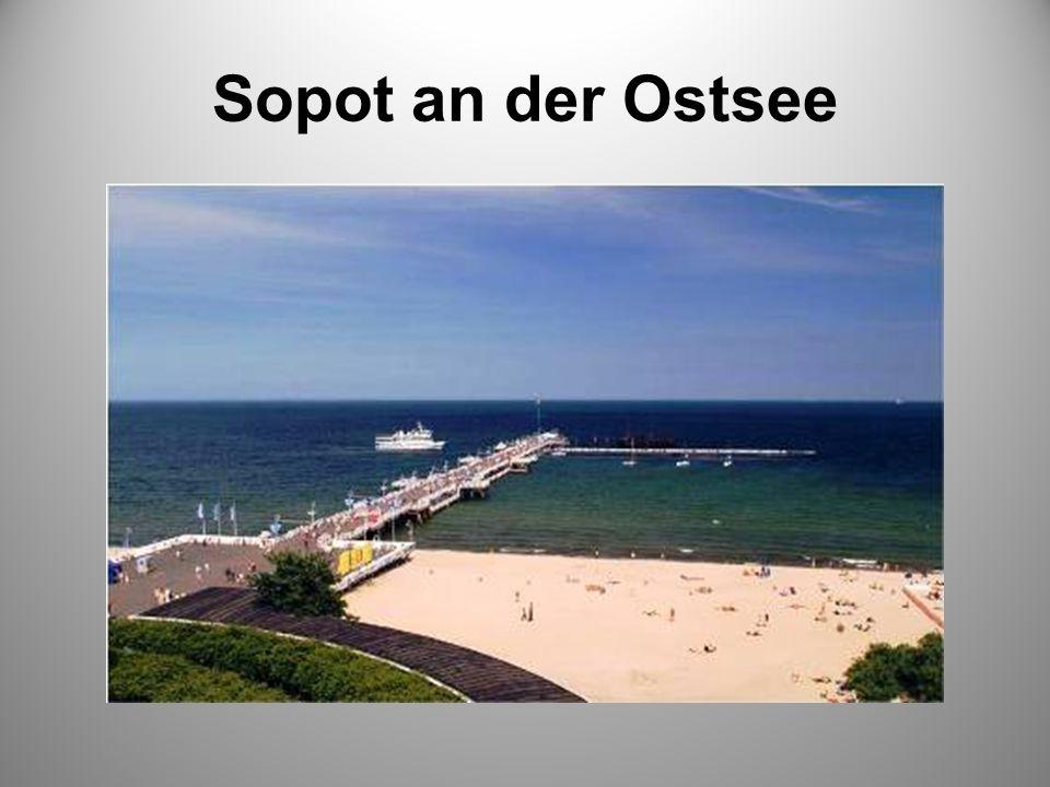 Sopot an der Ostsee