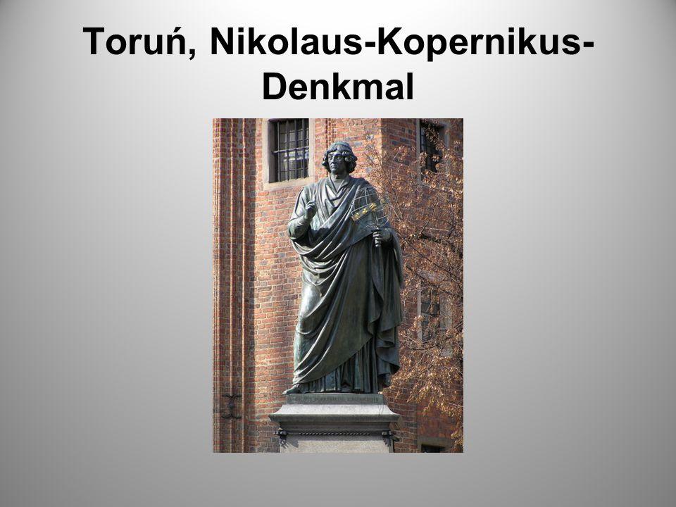 Toruń, Nikolaus-Kopernikus- Denkmal