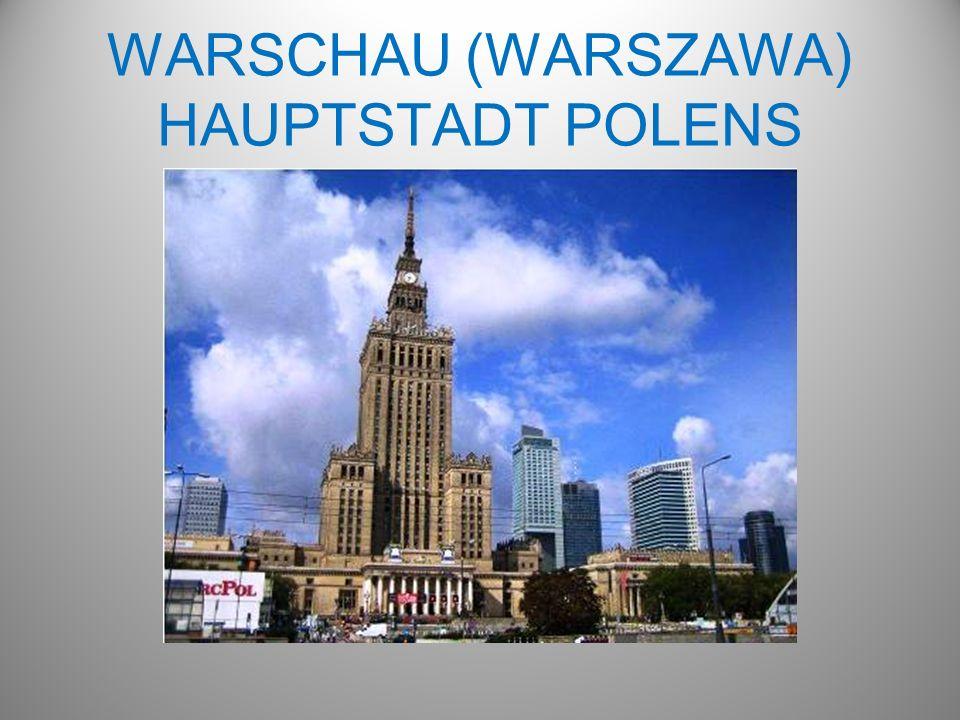 WARSCHAU (WARSZAWA) HAUPTSTADT POLENS