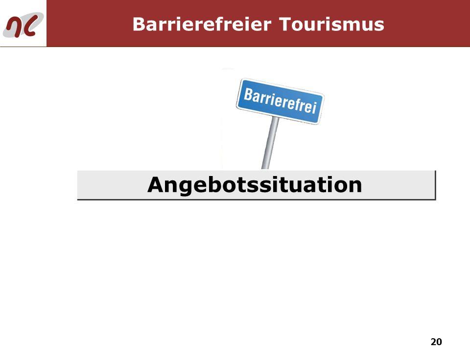 20 Angebotssituation Barrierefreier Tourismus
