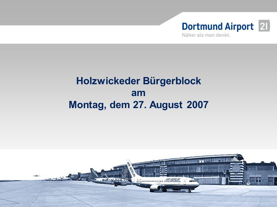 Holzwickeder Bürgerblock am Montag, dem 27. August 2007