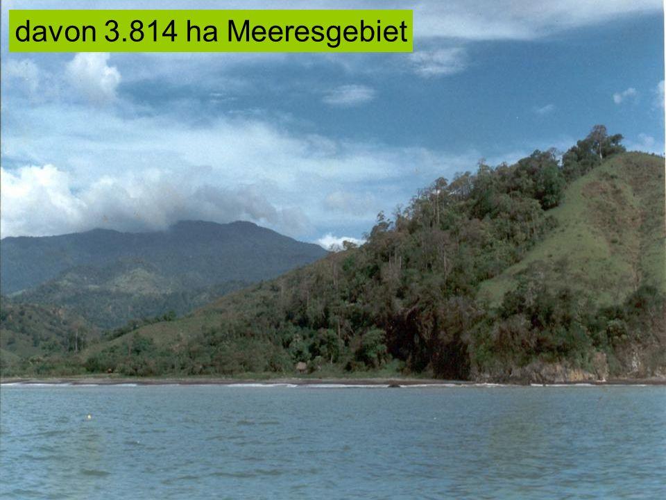 davon 3.814 ha Meeresgebiet