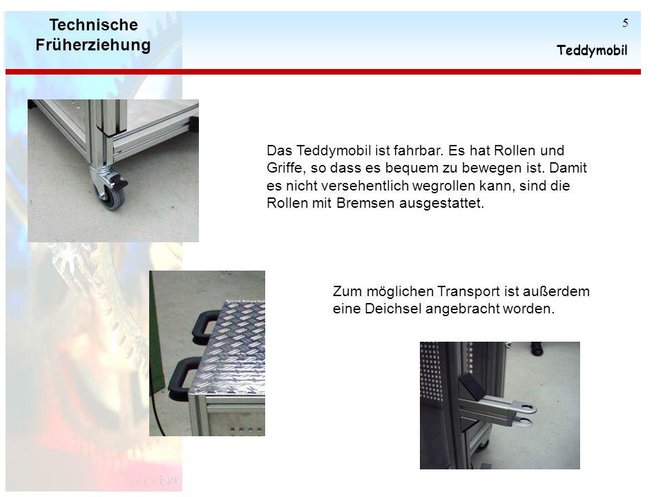 Technische Früherziehung Teddymobil 4 Die Kinder lernen verschiedene Schrauben (Außen- sechskantschrauben, Innensechskantschrauben, Schlitzschrauben,