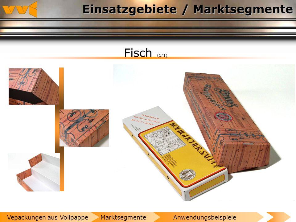 Einsatzgebiete / Marktsegmente Fleisch- und Wurstwaren (4/4) AnwendungsbeispieleMarktsegmenteVepackungen aus Vollpappe