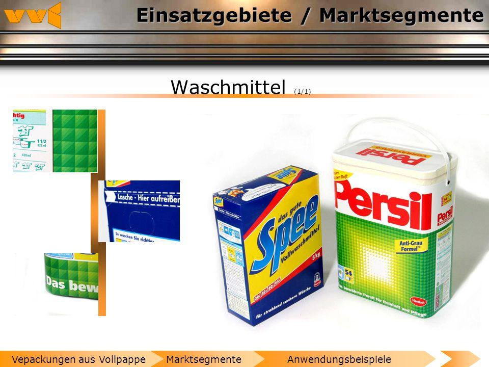 Einsatzgebiete / Marktsegmente Schuhe und Lederwaren (1/1) AnwendungsbeispieleMarktsegmenteVepackungen aus Vollpappe